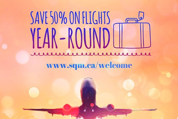 Save on Flights Year Round
