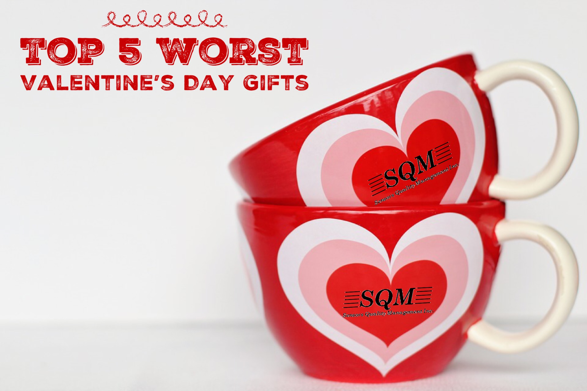 Top 5 Worst Valentine's Day Gifts